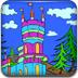 城堡填颜色
