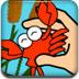 小溪捉螃蟹
