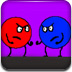 红蓝球迷宫比赛