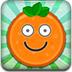 橙色的笑脸