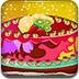 布置水果蛋糕