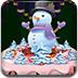 冰雪蛋糕装饰