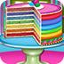 制作彩虹蛋糕