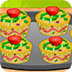 制作蔬菜蛋糕