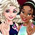 艾莎和缇娜的闺蜜装