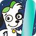 小狗多吉滑雪
