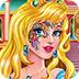 公主脸部彩绘