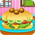 制作熏肉汉堡包-益智小游戏