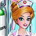 护士清洁救护车