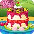 制作草莓夹心蛋糕