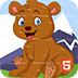 卡通宝贝熊拼图