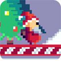 圣诞老人躲雪球