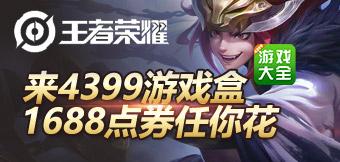 王者荣耀皮肤点券,游戏盒为你买单!