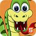 小蛇吃水果
