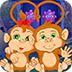 救援小猴双胞胎