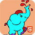 可爱小象图画册