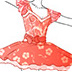 �O�芭蕾舞裙