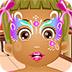 小雏菊的脸部彩绘