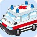卡通救护车拼拼看