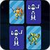战斗机器人记忆卡小游戏