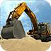 模擬挖掘工程車
