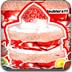 粉红草莓小蛋糕