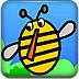 小蜜蜂玩小球